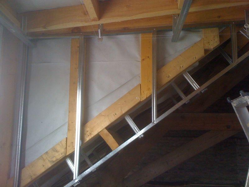 un hangar un loft un projet cloison. Black Bedroom Furniture Sets. Home Design Ideas