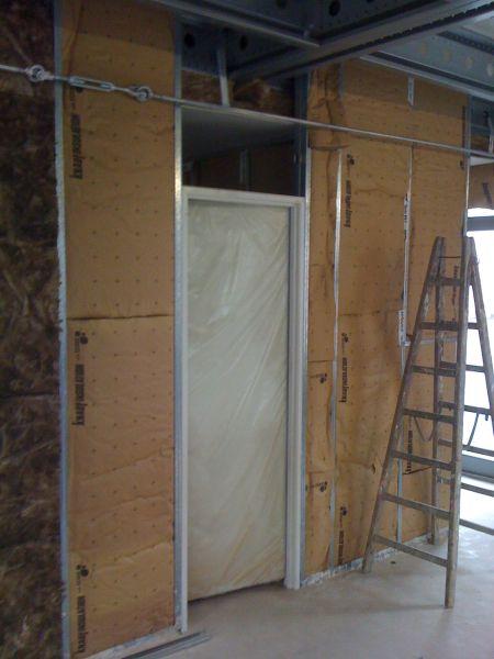 montage cloison placo avec porte trendy montage cloison placo avec porte with montage cloison. Black Bedroom Furniture Sets. Home Design Ideas