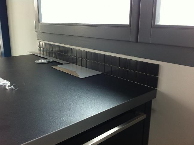 Un hangar un loft un projet cuisine for Acheter un plan de travail cuisine