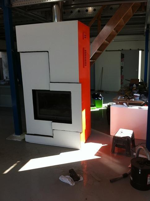 un hangar un loft un projet chemin e. Black Bedroom Furniture Sets. Home Design Ideas
